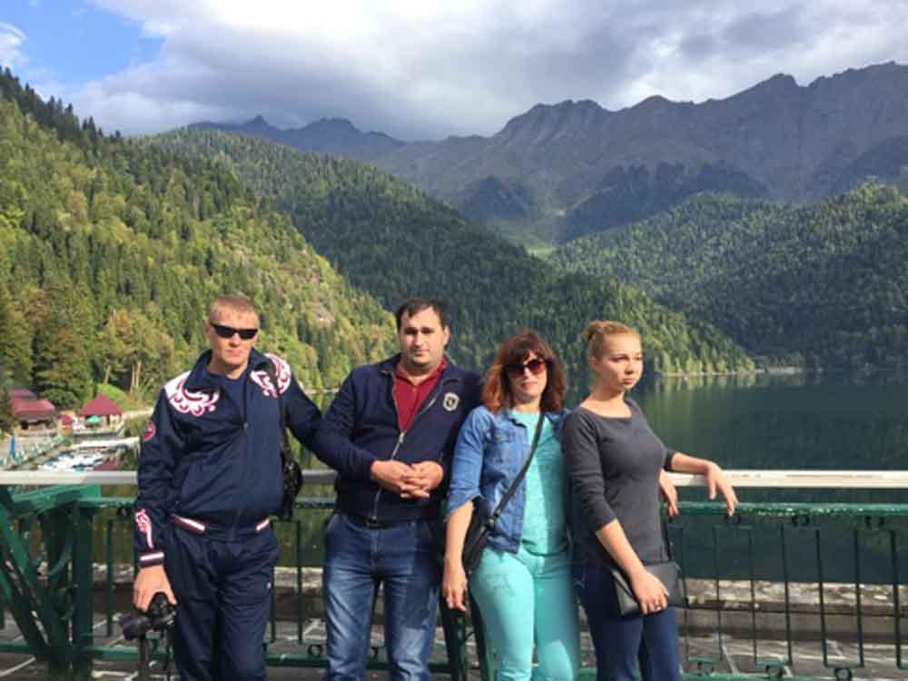 Экскурсия по Абхазии.
